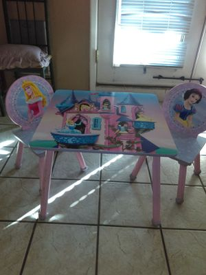 Princess Kids Table and Chairs for Sale in Phoenix, AZ