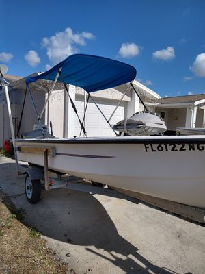 2006 fishing boat, 14ft with 25hp motor for Sale in Port Richey, FL