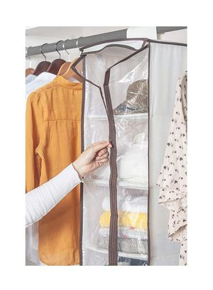 2 Hanging Organizer with Clear Door, 6-Shelf Hanging Shelves for Closet for Sale in Tampa, FL