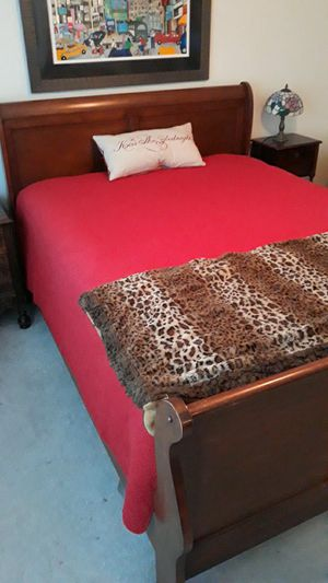Queen Sleigh Bed Frame for Sale in Dana Point, CA