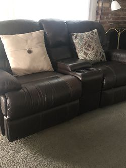 Reclining Loveseat And Tables for Sale in Anaheim,  CA