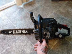 Black max chainsaw for Sale in Dallas, OR