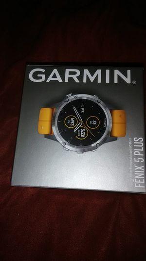 Garmin fenix 5 Plus Sapphire GPS watch for Sale in Peoria, IL