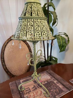 Antique style metal lantern candle holder for Sale in Federal Way, WA