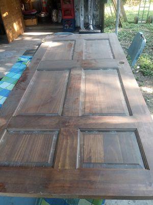 Wooden door in good shape for Sale in San Antonio, TX