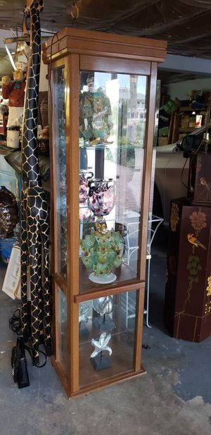 Curio Cabinet display cabinet for Sale in NEW PRT RCHY, FL