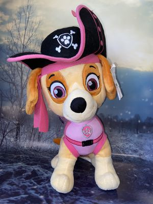 "Rare Nickelodeon Large Paw Patrol Pirate Pups Skye Plush 17"" hard to find. for Sale in Lakewood, CA"