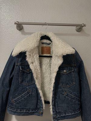 Levi's Jean jacket (fur inside) for Sale in Riverside, CA