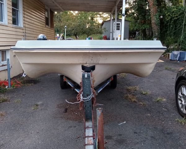 Boat, trailer and motor for sale
