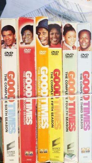 GODTIMES DVDS 1TOB6 SEASONS for Sale in Centreville, VA
