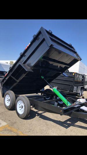 8x10x2 DUMP TRAILER for Sale in Whittier, CA