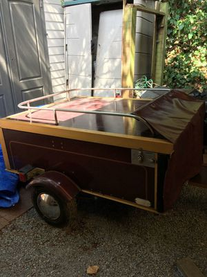Motorcycle camp tent trailer for Sale in Auburn, WA