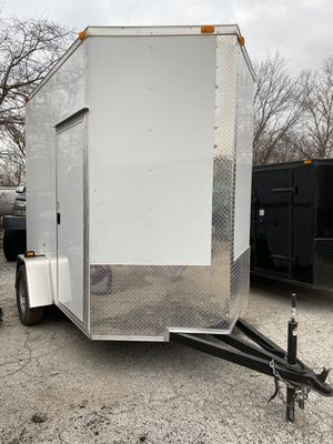 2020 6x8 DEEP SOUTH ENCLOSED CARGO TRAILER *BRAND NEW* for Sale in Lewisville, TX