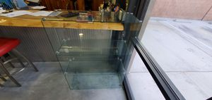 Glass display shelving unit for Sale in Las Vegas, NV