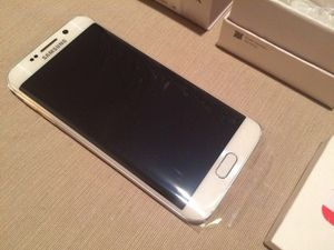 Samsung Galaxy s6 edge white 32 NEW for Sale in Houston, TX