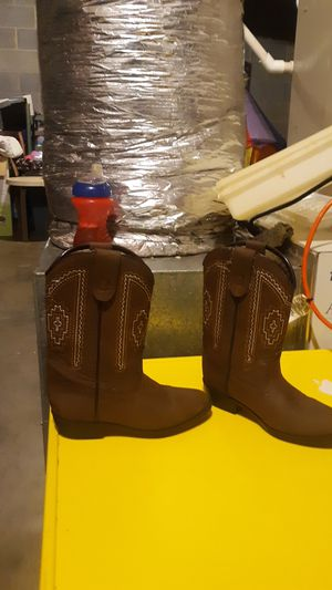 Size 11 Rodeo Ropers Girls toddler cowgirl boots for Sale in High Point, NC