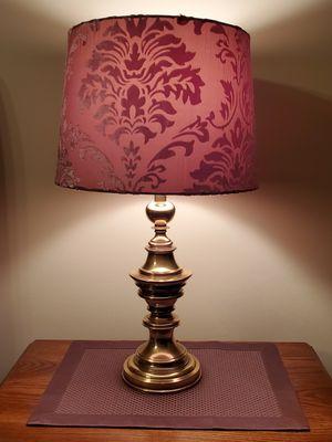 2 Table Lamps Brass Stiffle for Sale in Wayne, NJ