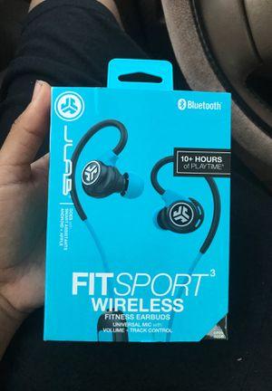 JLab Audio Bluetooth Wireless Fit Sport WireLess Fitness Earbuds for Sale in San Francisco, CA