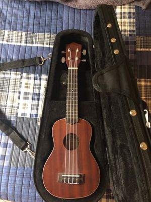 Lanikai Soprano Ukulele (with case) for Sale in St. Peters, MO
