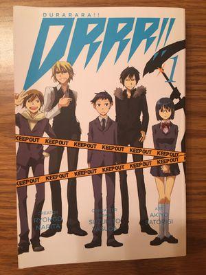Durarara!! Volume 1 for Sale in Three Lakes, WI
