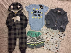 12 month boy clothes & pj's for Sale in Hayward, CA