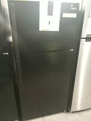 NEW SCRATCH AND DENT WHIRLPOOL BLACK TOP 28 IN FREEZER FRIDGE 28 IN W/6 MONTHS WARRANTY for Sale in Baltimore, MD