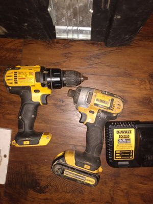 DeWalt cordless drill and impact driver for Sale in Nashville, TN