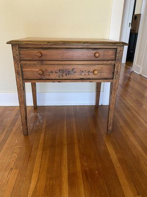 Side Table with Matching Tray Top for Sale in San Diego, CA