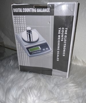 Digital counting balance weight scale for Sale in Fresno, CA