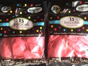 2 New packs of 12 inch balloons for Sale in Portsmouth, VA