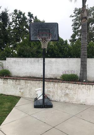 Basketball hoop adjustable for Sale in Upland, CA
