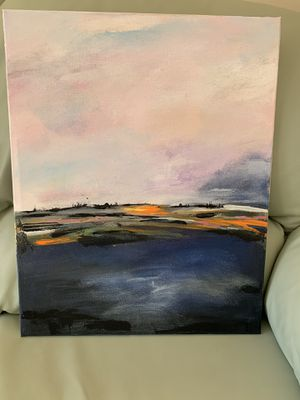 Acrylic painting canvas for Sale in Boca Raton, FL