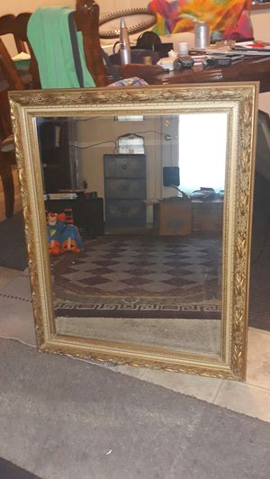 Gold Frame Mirror for Sale in Twin Falls, ID