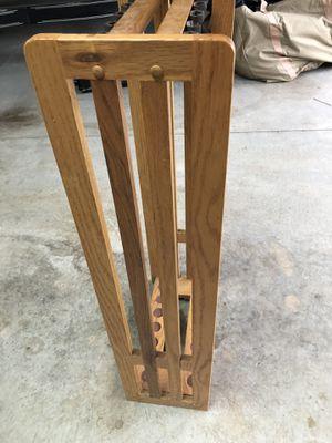 Oak fishing rod rack. for Sale in Kents Store, VA