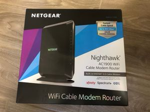 NetGear modem router combo C7000v2, AC1900 Xfinity compatible for Sale in West Palm Beach, FL