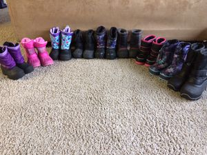 Toddler/kids Snow Boots for Sale in Kent, WA