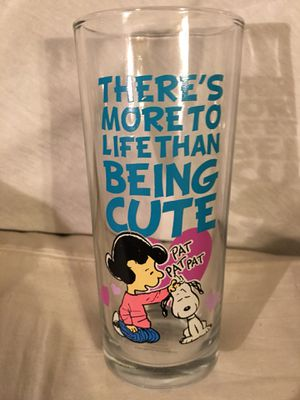 Peanuts official collectible glass for Sale in Gaithersburg, MD
