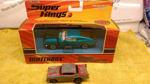 Used, MATCHBOX SUPER KINGS K-205 1970 FORD MUSTANG BOSS 302 1/43 SCALE BLUE for Sale for sale  Spring Valley, CA