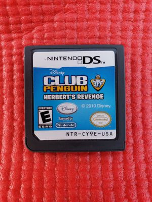Club penguins herbert's revenge Nintendo ds for Sale in Norwalk, CA