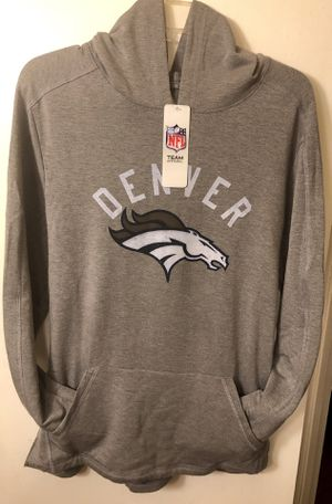NFL, Special $25, Men's Clothes, Denver Broncos, Tonal Gray, Lightweight Hoodie, New W/ Tags, Size M, L, Plus Size XXL for Sale in Anaheim, CA