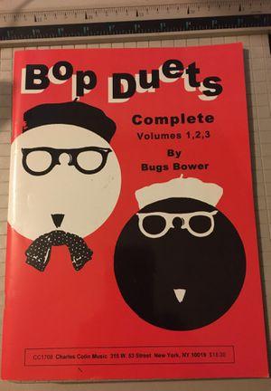 Music sheet book. (Bop Duets) for Sale in Boca Raton, FL