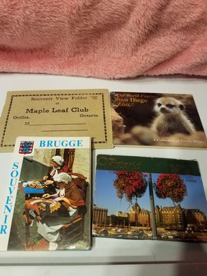 Photo souvenir booklet lot for Sale in Maumee, OH