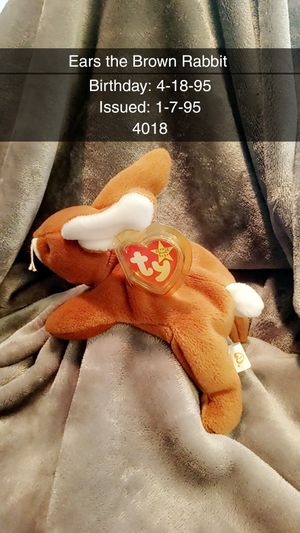 TY Beanie Baby Ears for Sale in Plano, TX