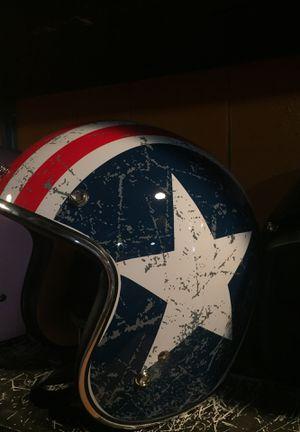 3/4 American flag dot motorcycle helmet $75 for Sale in Norwalk, CA