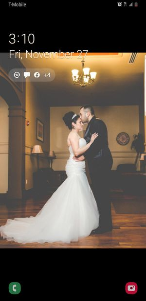 Used wedding Dress SIZE 10 for Sale in Mesa, AZ