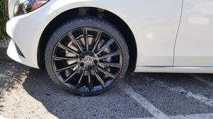 """Mercedes c250 300 e350 19"""" new amg style rims tires set for Sale in Hayward, CA"""