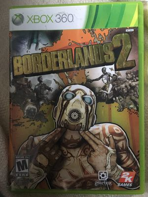 Borderlands 2 Xbox 360 case game Manual for Sale in Chicago, IL