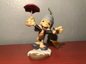 Jiminy Cricket from Christmas Ornament from Pinocchio Walt Disney Classics Collection Mickey's Christmas Carol for Sale in New York, NY