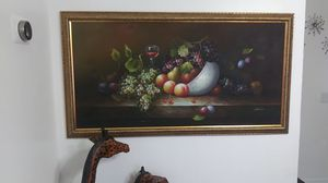 beautiful picture for your dining room ready for the holidays for Sale in Cocoa, FL