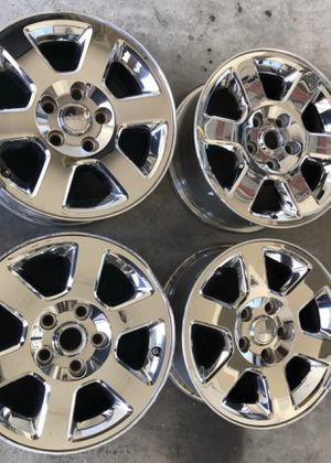 Jeep Chrome Wheels - Set of 4 for Sale in Round Rock, TX